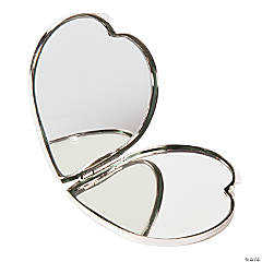 Personalized Heart-Shaped Compact