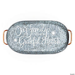Personalized Holiday Handicraft Serving Tray