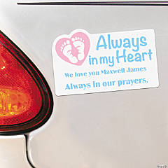 Personalized Infant Loss Car Magnets