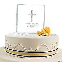 Personalized Inspirational Cake Topper