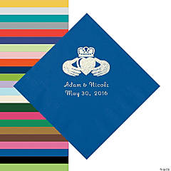 Personalized Irish Wedding Napkins
