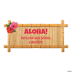 Personalized Island Luau Sign