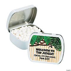 Personalized Jungle Mint Tins