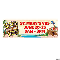 Personalized Large Island VBS Vinyl Banner