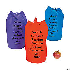 Personalized Large Nonwoven Colors Drawstring Bags