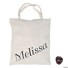 Personalized Large Oversized Tote Bag