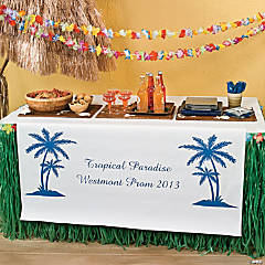 Personalized Luau Table Runner
