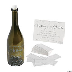 Personalized Message in a Bottle Guest Book