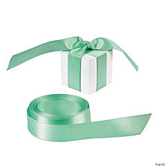 Personalized Mint Green Ribbon - 7/8