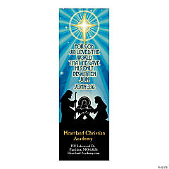 Personalized Nativity Bookmarks