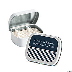 Personalized Nautical Mint Tins