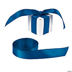 Personalized Navy Ribbon - 7/8