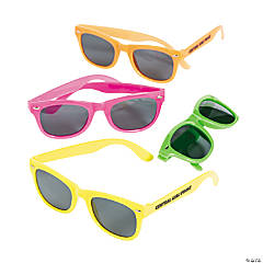 Personalized Neon Nomad Sunglasses