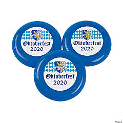 Personalized Oktoberfest Mini Flying Discs