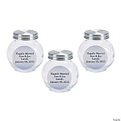 Personalized Ombre Round Jar Favors