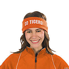 Personalized Orange Headbands