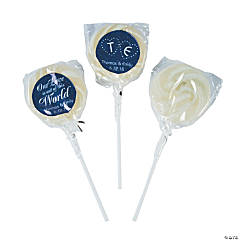 Personalized Out of this World Swirl Lollipops