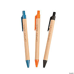 Personalized Paper Ball Point Pens