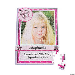 Personalized Photo Flower Girl Puzzle