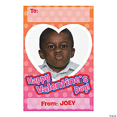 Personalized Photo Small Valentine Cards