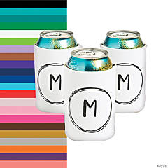 Personalized Premium Monogram Neoprene Can Covers
