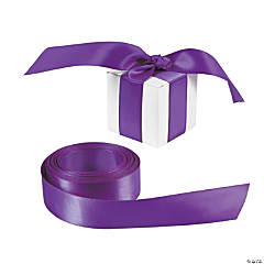 Personalized Purple Ribbon - 7/8