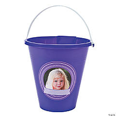 Personalized Purple Sand Bucket