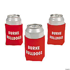 Personalized Red Can Covers