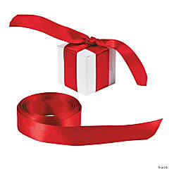 Personalized Red Ribbon - 3/4