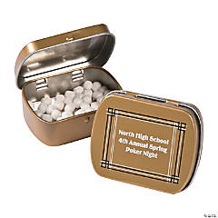 Personalized Roaring 20s Mint Tins
