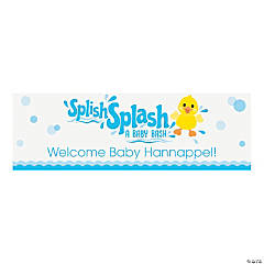 Personalized Rubber Ducky Vinyl Banner