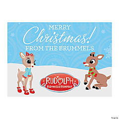 Personalized Rudolph the Red-Nosed Reindeer<sup>&#174;</sup> Christmas Cards