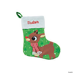 Personalized Rudolph the Red-Nosed Reindeer<sup>&#174;</sup> Stocking