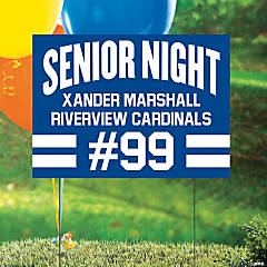 Personalized Senior Night Yard Sign