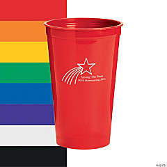 Personalized Shooting Star Tumblers
