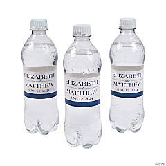 Personalized Simple Water Bottle Labels