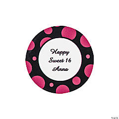 Personalized Simply Sassy Favor Stickers