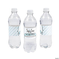 Personalized Sip & See Water Bottle Labels