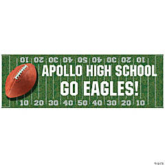 Personalized Small Football Field Banner