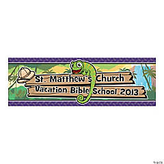 Personalized Small Safari Banner
