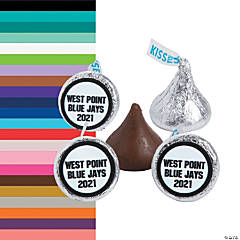 Personalized Spirit Hershey's® Kisses® Stickers