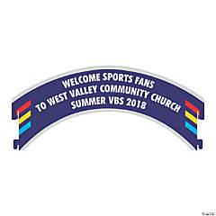 Personalized Sports VBS Stadium Archway Sign