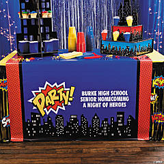 Personalized Superhero Table Runner