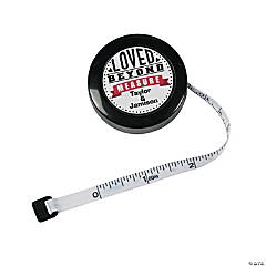 Personalized Tape Measure Favor