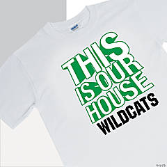 Personalized Team Spirit Shirt - This Is Our House