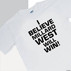 Personalized Team Spirit T-Shirt - I Believe...