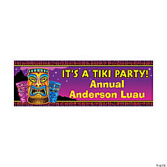Personalized Tiki Time Banner - Small