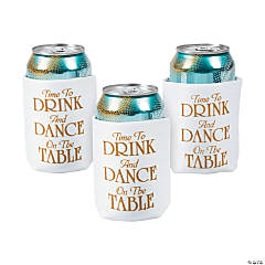Personalized Time to Drink Can Covers