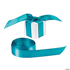 Personalized Turquoise Ribbon - 7/8