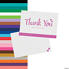 Personalized We Do Wedding Thank You Cards